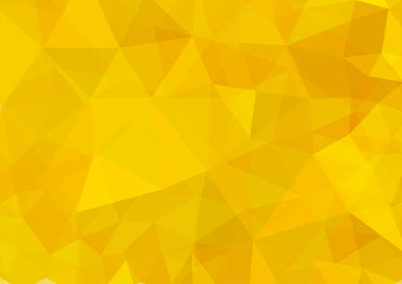 Abstract gold geometric pattern background