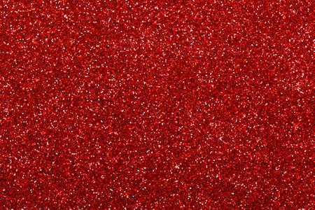 Red glitter texture background