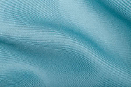 Blue satin fabric texture background Standard-Bild - 163189863