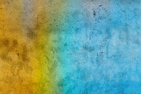 Yellow and blue grunge for background Standard-Bild