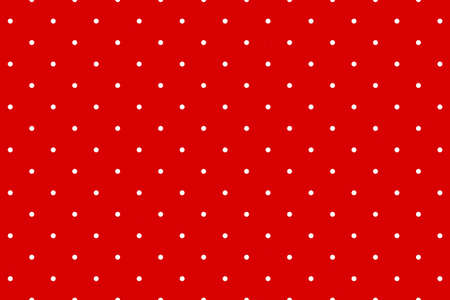 Red wrapping paper with dot pattern background