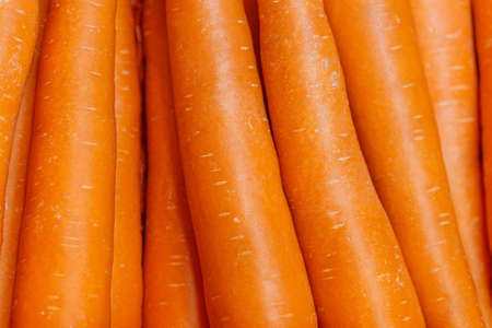 Close-up of carrot background, Food background