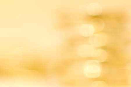 Abstract blur gold background with bokeh