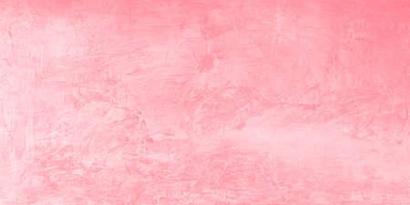 Pink loft wall background, Concrete texture background