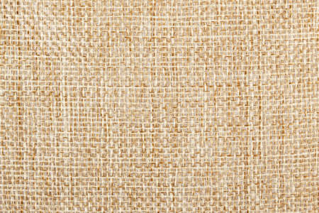 Background of natural brown sackcloth