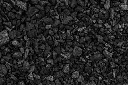 Black charcoal texture for background Standard-Bild