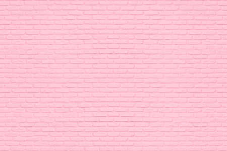 Pink brick wall for background