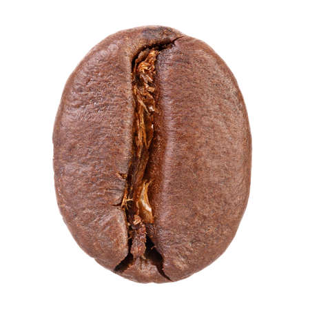 Coffee bean isolated on white background Фото со стока