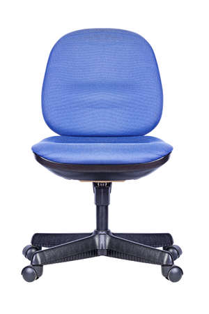 Office chair isolated on white background Фото со стока