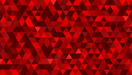 Abstract red polygonal vector background Иллюстрация