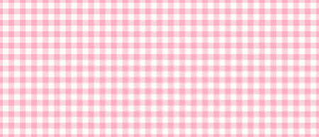 Pink traditional gingham seamless background