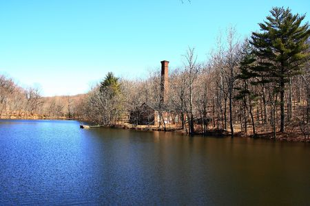 View at Campbells Pond Imagens