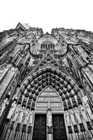 The front doors of Cologne Catherdral photo