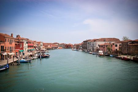 murano: Venice Murano canals in the day