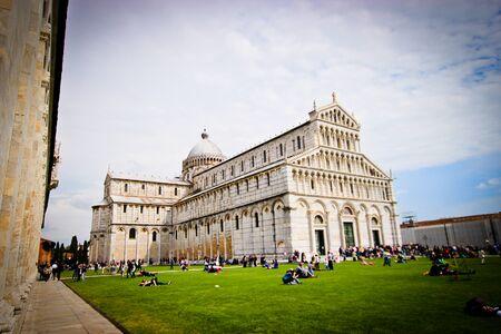 cattedrale: Wide shot of Cattedrale di Pisa