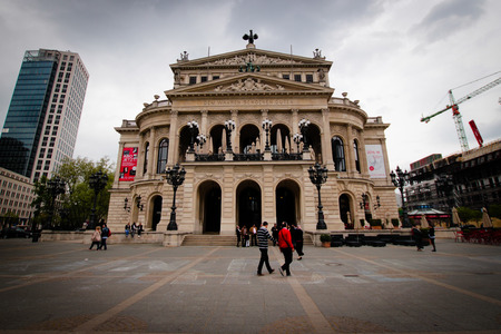 oper: Alte Oper concert hall at Frankfurt