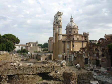 Roman Forum with church
