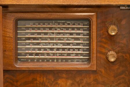 Vintage 1930s Radio photo
