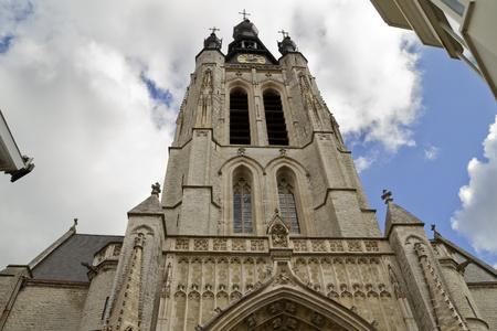 Kortrijk Cathedral. West  Flanders, Belgium