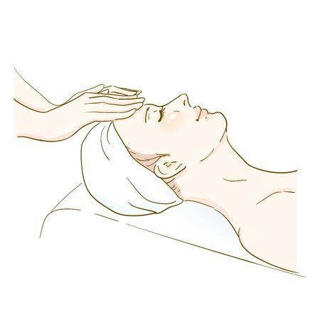Esthetic Professional Treatment Scene Facial Massage 2