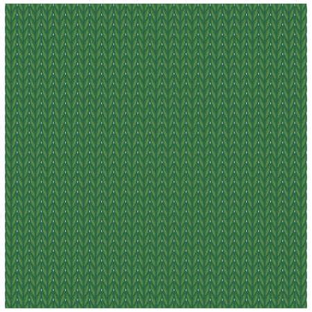 Hand-knitted knit (Meryas knitting)
