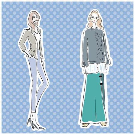 Autumn Fashion Fashionable Woman