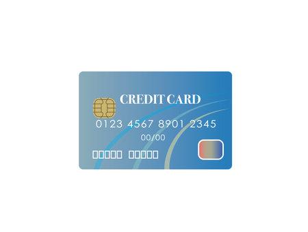 Credit card images vector illustration Ilustracja
