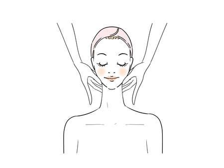 Esthetic Professional Treatment Facial Massage