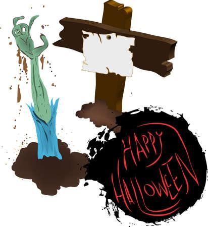 nodules: halloween Illustration