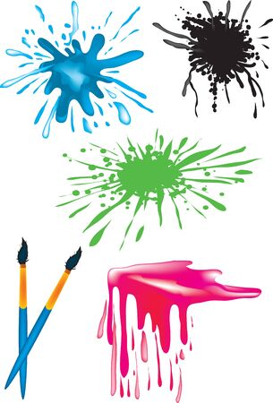 paint drip: Splotch Illustration
