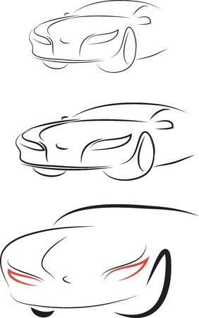 set of car,