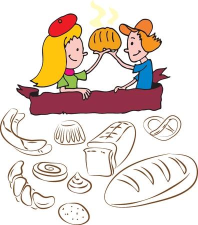 kneading: Bakery bambini