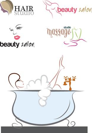 facial massage: massage sets