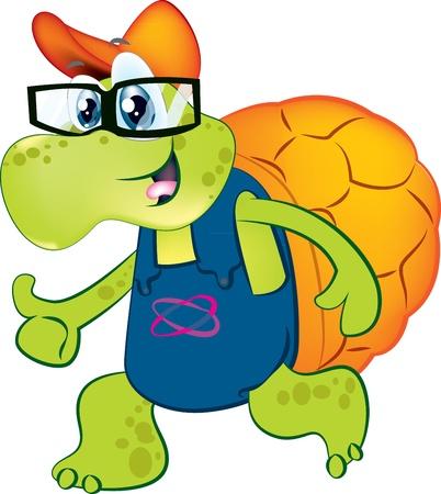 cute vector turtle Stock Vector - 14149861