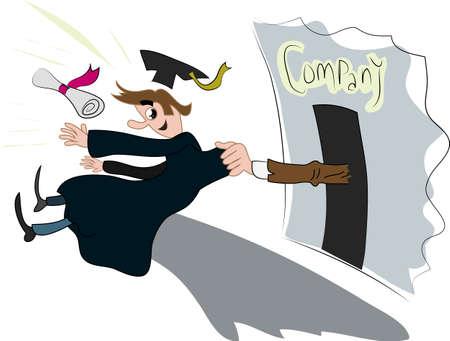 college graduation: graduate entrants