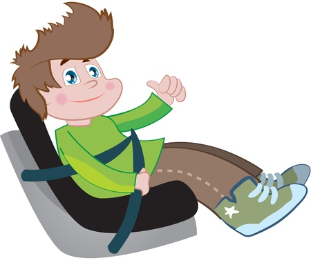 car seat for children Stock Vector - 15010864