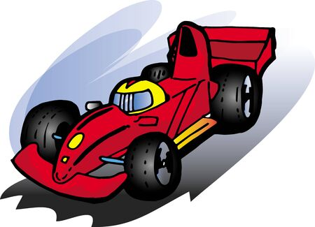 formula one: car Illustration