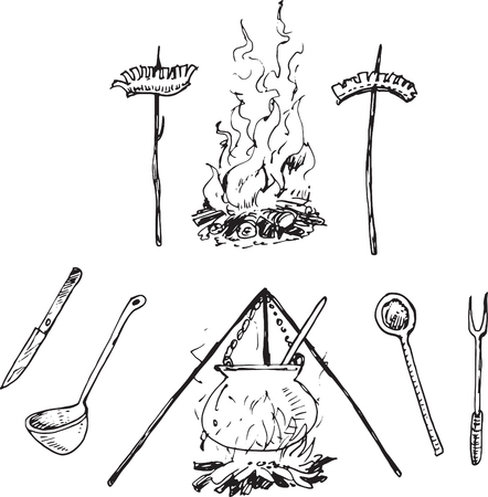 embers: Campfire barbecue