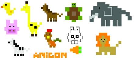Polygon animals photo