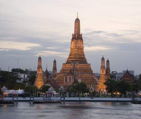 Temple of dawn beautiful landmark temple