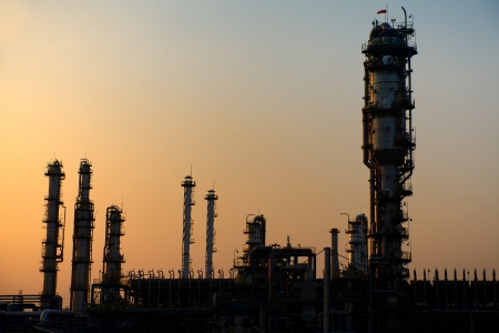 Nice Oil and Gas Refinery Stock Photo - 24909635