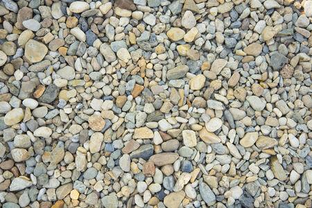 tileable: Pebble Stones. Seamless Tileable Texture. Stock Photo