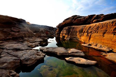 Sam-Pan-Bok Grand Canyon Ubon Ratchathani Thailand photo