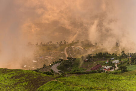 Eastern mountain Landscape photo