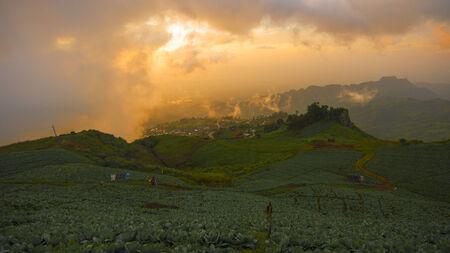 Eastern mountain Landscape