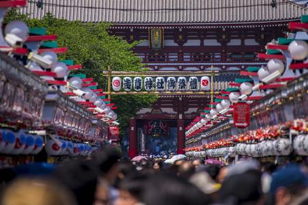 17 MAY 2015 Sanja Matsuri Sanja Festival At Sensoji Temple Tokyo Japan Editorial