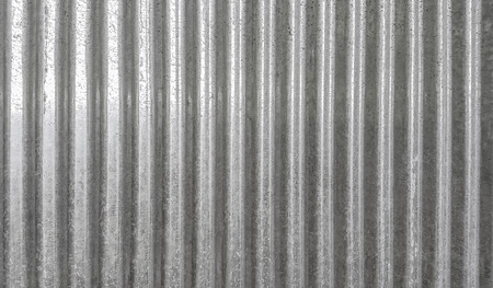 Corrugated metal texture surface background