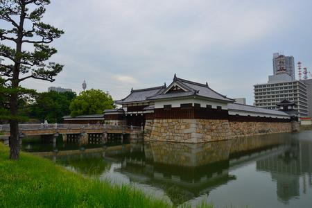 hiroshima: Hiroshima castle, Japan Editorial