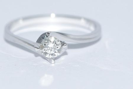 path to wealth: Diamond ring