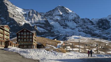 jungfraujoch: Amazing winter landscape Jungfraujoch, top of Eurpoe